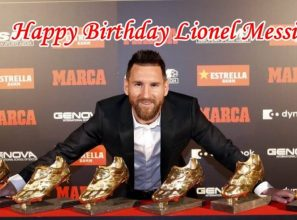 Happy Birthday Lionel Messi