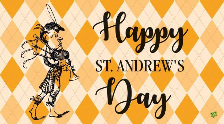 Saint Andrew's Day Quotes and Messages