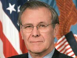 Donald Henry Rumsfeld Quotes