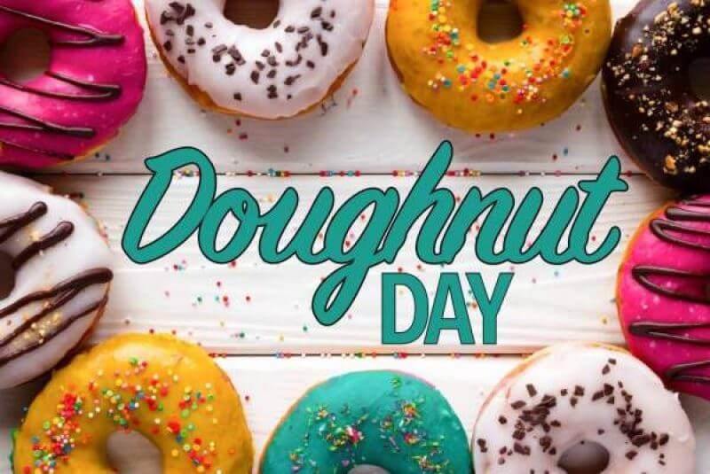 National Doughnut Day Quotes Messages and Greetings