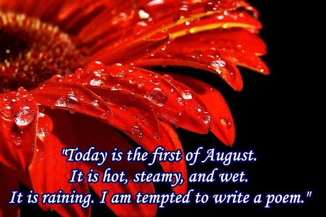 August Quotes