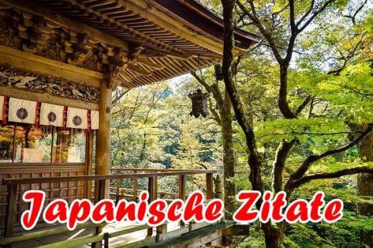 Japanische Zitate